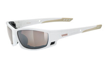 Uvex Sgl 300, white brown/mirror brown
